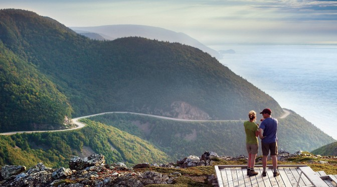 In Kürze: Der Cabot Trail auf Cape Breton in Nova Scotia, Kanada