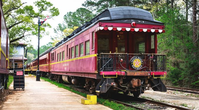 Tyler State Park Railroad © Texas Tourism
