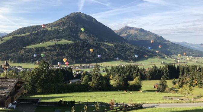 22. bis 29. September: 29. Int. Libro Ballon Cup in den Kitzbüheler Alpen