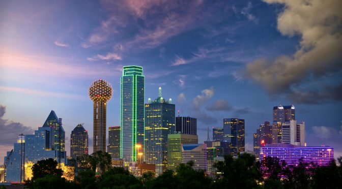 Dallas City Skyline © Dibrova